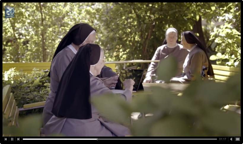 Nuns using Surface